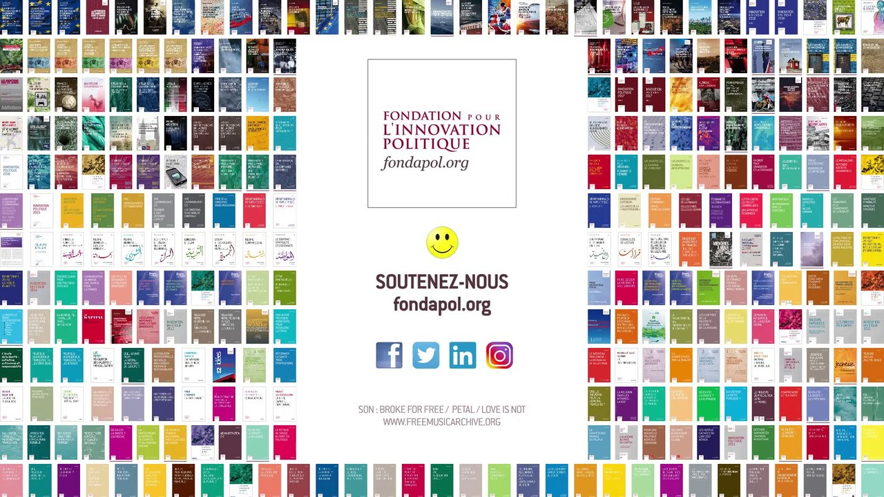 Études Fondapol 2009 - 2019
