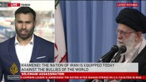 Khamenei: 'Last night we slapped the US in the face'