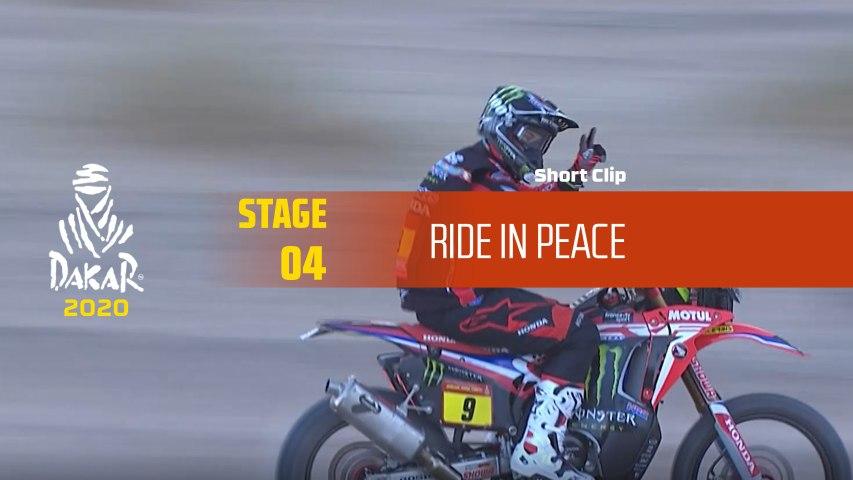 Dakar 2020 - Étape 4 / Stage 4 - Ride in peace