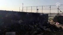 İran'da düşen yolcu uçağındaki 176 kişi hayatını kaybetti