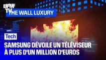 7 mètres de diagonale, 8K, 1,2 million d'euros : Samsung dévoile un son gigantesque téléviseur