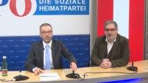 """FPÖ kündigt """"harte und kantige"""" Oppositionspolitik an"""