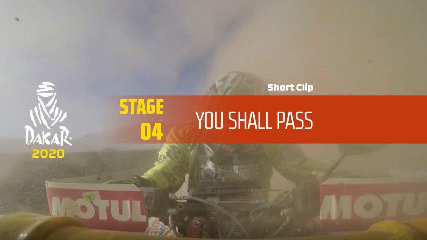 Dakar 2020 - Étape 4 / Stage 4 - You shall pass