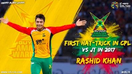 Rashid Khan Hat-Trick