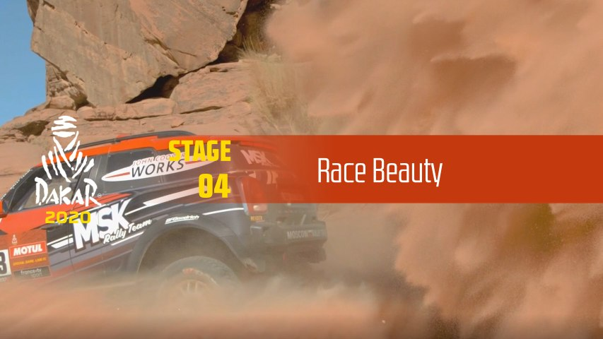 Dakar 2020 - Étape 4 / Stage 4 - Race Beauty