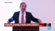 "Carlos Ghosn press conference: ""I felt I was a hostage"""