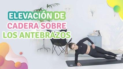 Elevación de cadera sobre los antebrazos - Mejor con salud
