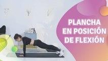 Plancha en posición de flexión - Mejor con salud