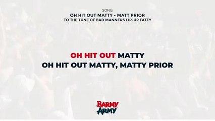 Oh hit out Matty - Matt Prior