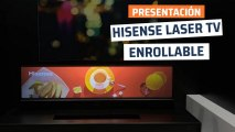 Hisense Laser TV enrollable