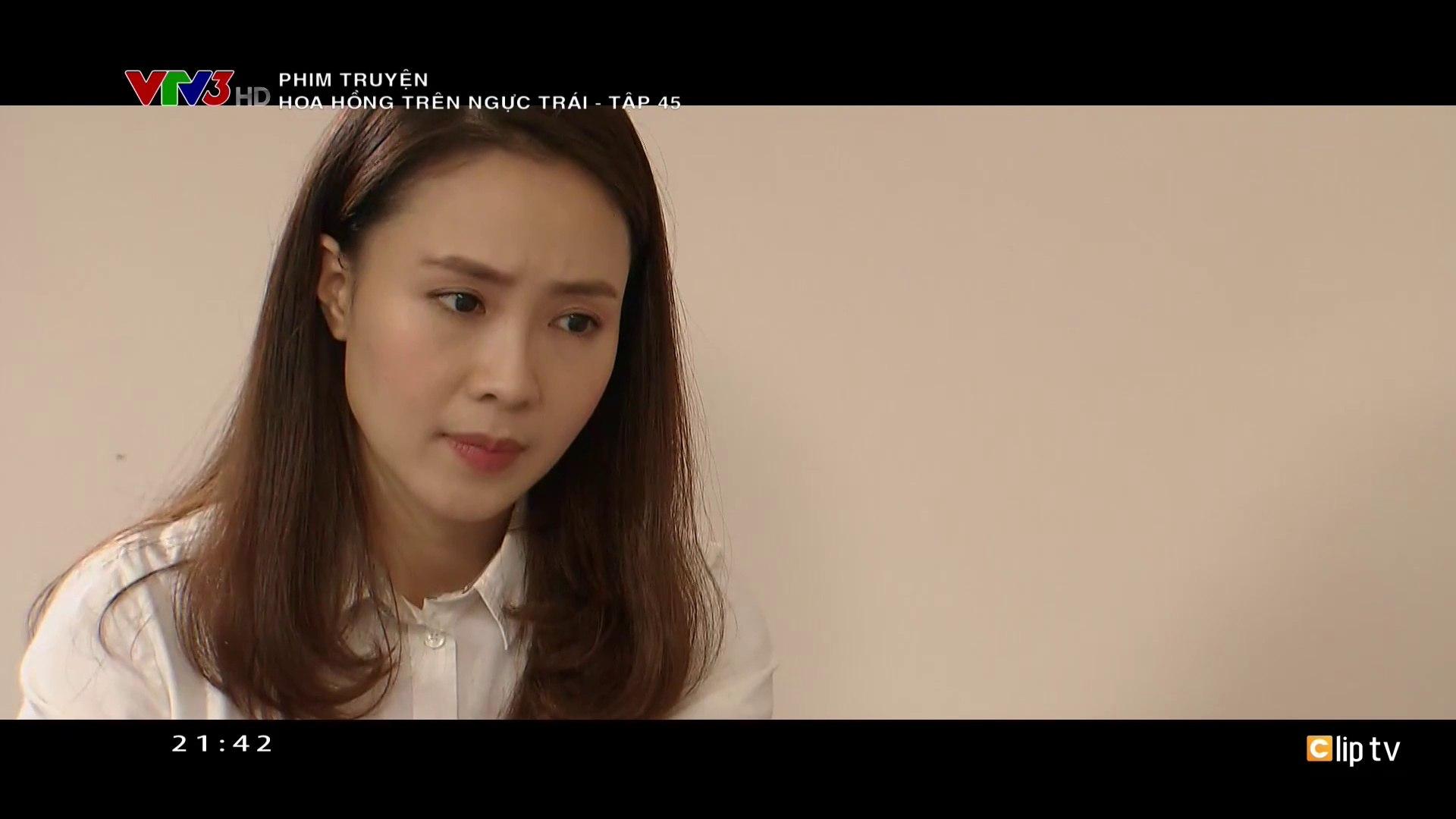 Hoa Hồng Trên Ngực Trái Tập 45 - Ngày 8-1-2020 - Phim Việt Nam VTV3