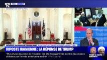Story 1 : Riposte Iranienne, la réponse de Donald Trump – 08/01