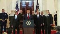 Trump: Keine Gegenschläge – dafür neue Sanktionen