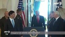 Trump anuncia novas sanções, mas pede paz ao Irã