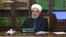 """Donald Trump : """"L'Iran semble reculer"""""""