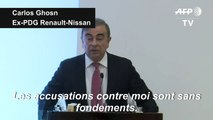 "Carlos Ghosn: les accusations de malversations financières ""sans fondements"""