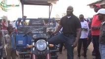 Saioua/ Développement : Un cadre fait don d'un tricycle à la coopérative féminine d'un village