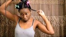 Blow Drying Natural Hair NO HEAT DAMAGE | RestOviebelle