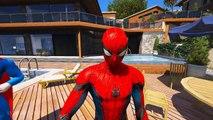 Spiderman Hulk And Joker Animation Story 3D (GTA V)-