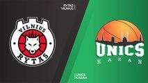 Rytas Vilnius - UNICS Kazan  Highlights | 7DAYS EuroCup, T16 Round 1