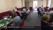 Réforme des retraites : le nouveau système de cotisations des cadres fait polémique