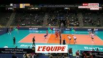 La France qualifiée pour les demies - Volley - TQO (H)