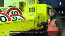 Haute-Marne : retour aux 90 km/h