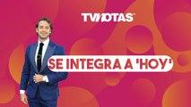 Lambda García se integra a 'Hoy' como reemplazo de Mauricio Mancera