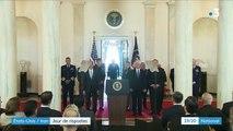 Iran/États-Unis : Donald Trump minimise la riposte iranienne