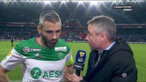 La réaction de Loic Perrin après PSG / ASSE - Coupe de la Ligue BKT - Late Football Club