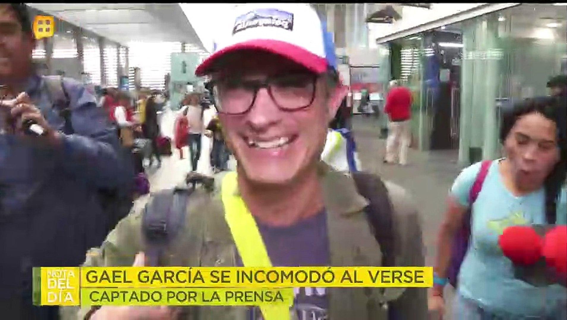 ¡Gael García intentó huir cuando lo captamos con sus hijos y su novia!  | Ventaneando