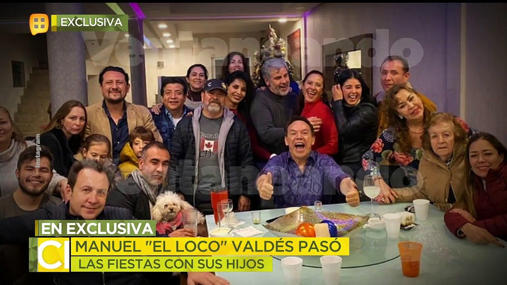 ¡Marcos Valdés revela cómo pasó su papá Manuel 'Loco' Valdés las fiestas decembrinas! | Ve