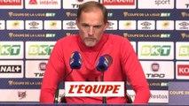 Tuchel «On joue avec plus d'efforts» - Foot - C. Ligue - PSG