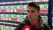 L. Araújo : «Un lien très fort avec nos supporters»