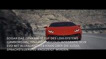 Automobili Lamborghini integriert als erster Automobilhersteller Amazon Alexa zur Steuerung der Bordfunktionen