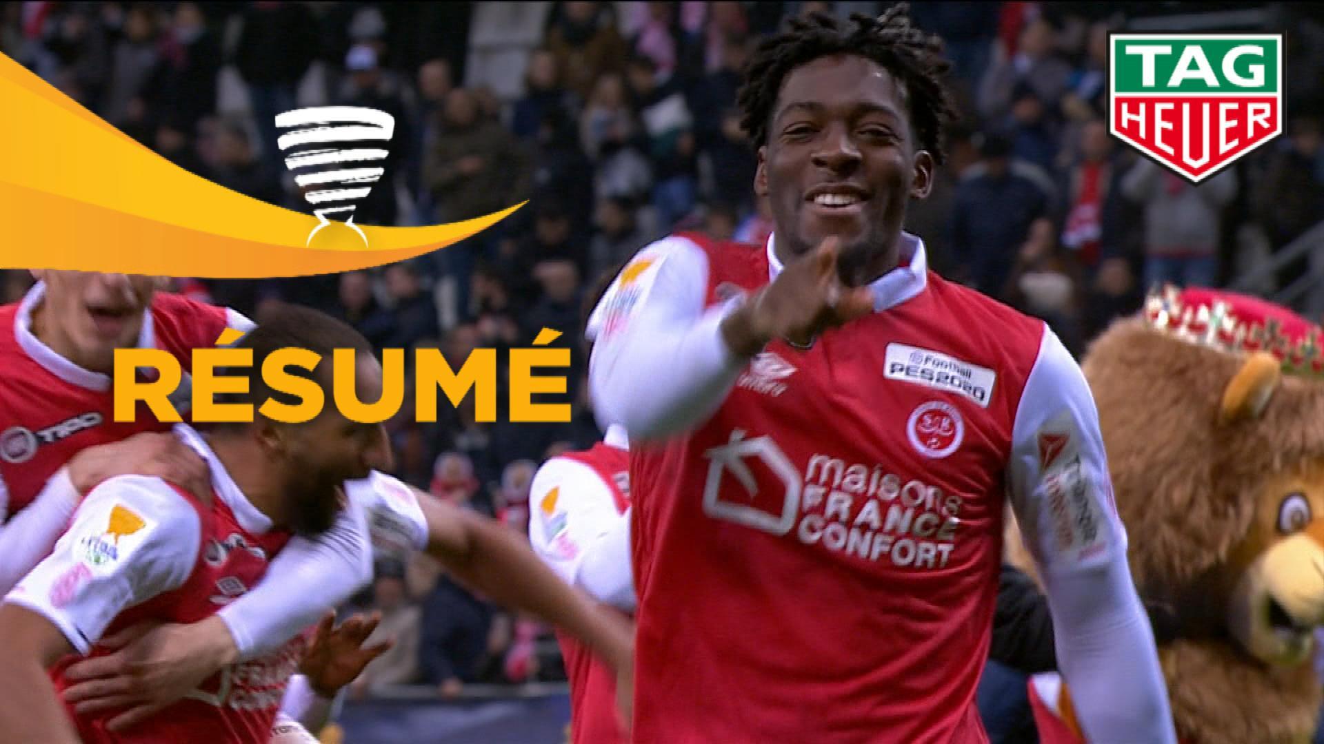Stade de Reims - RC Strasbourg Alsace (0-0 4 tab à 2)  - (1/4 de finale) - Résumé - (REIMS-RCSA) / 2019-20
