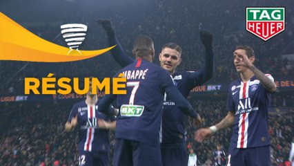 Paris Saint-Germain - AS Saint-Etienne (6-1)  - (1/4 de finale) - Résumé - (PARIS-ASSE) / 2019-20
