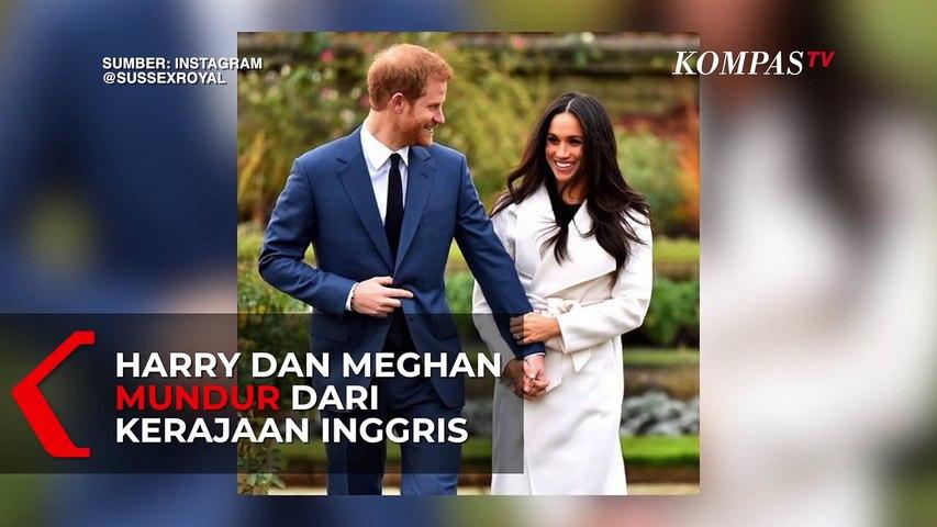 Alasan Pangeran Harry dan Meghan Mundur dari Keluarga Kerajaan Inggris