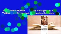 International Human Resource Management: A Multinational Companies Perspective Complete