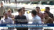 Presiden Cek Pengamanan di Natuna