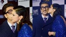 Chhapaak Screening में Deepika Padukone Ranveer Singh का खुलेआम Kiss, UNCUT VIDEO  Boldsky