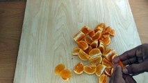 Orange Juice   How To Make Homemade Fresh Orange Juice   By Shayan Cooking Foods