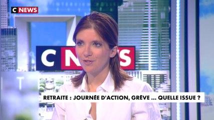 Aurore Bergé - CNews jeudi 9 janvier 2020