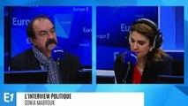 """Grève : Philippe Martinez affirme que """"l'opinion publique soutient toujours le mouvement"""""""