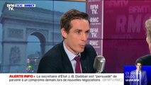 """Grève: Jean-Baptiste Djebbari se """"réjouit"""" du remboursement des titres de transports, """"c'était nécessaire"""""""