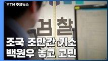 '감찰 무마' 조국 조만간 기소...백원우 놓고 고민 / YTN