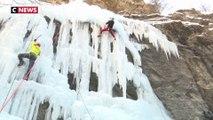 Connaissez vous l'escalade de glace ?