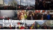 Contre la réforme des retraites, des manifestations se sont élancées partout en France