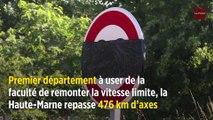 90 km/h : la Haute-Marne change les panneaux sur 476 km de routes