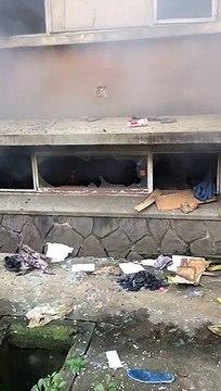 RDC - Sommés d'évacuer la cité universitaire  des étudiants mettent le feu à certains homes